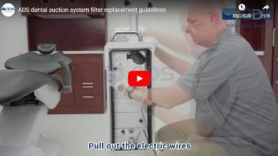 ADS dental suction system filter replacement guidelines